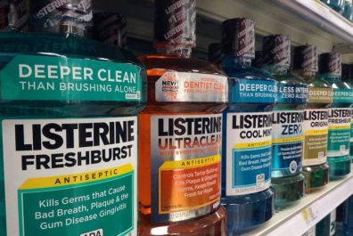 Various Listerine Products